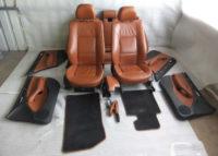BMW E46 3er Touring Ledersitze braun