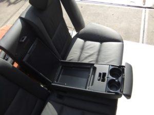 BMW 5er E60 2008 Komfortsitze Ledersitze schwarz