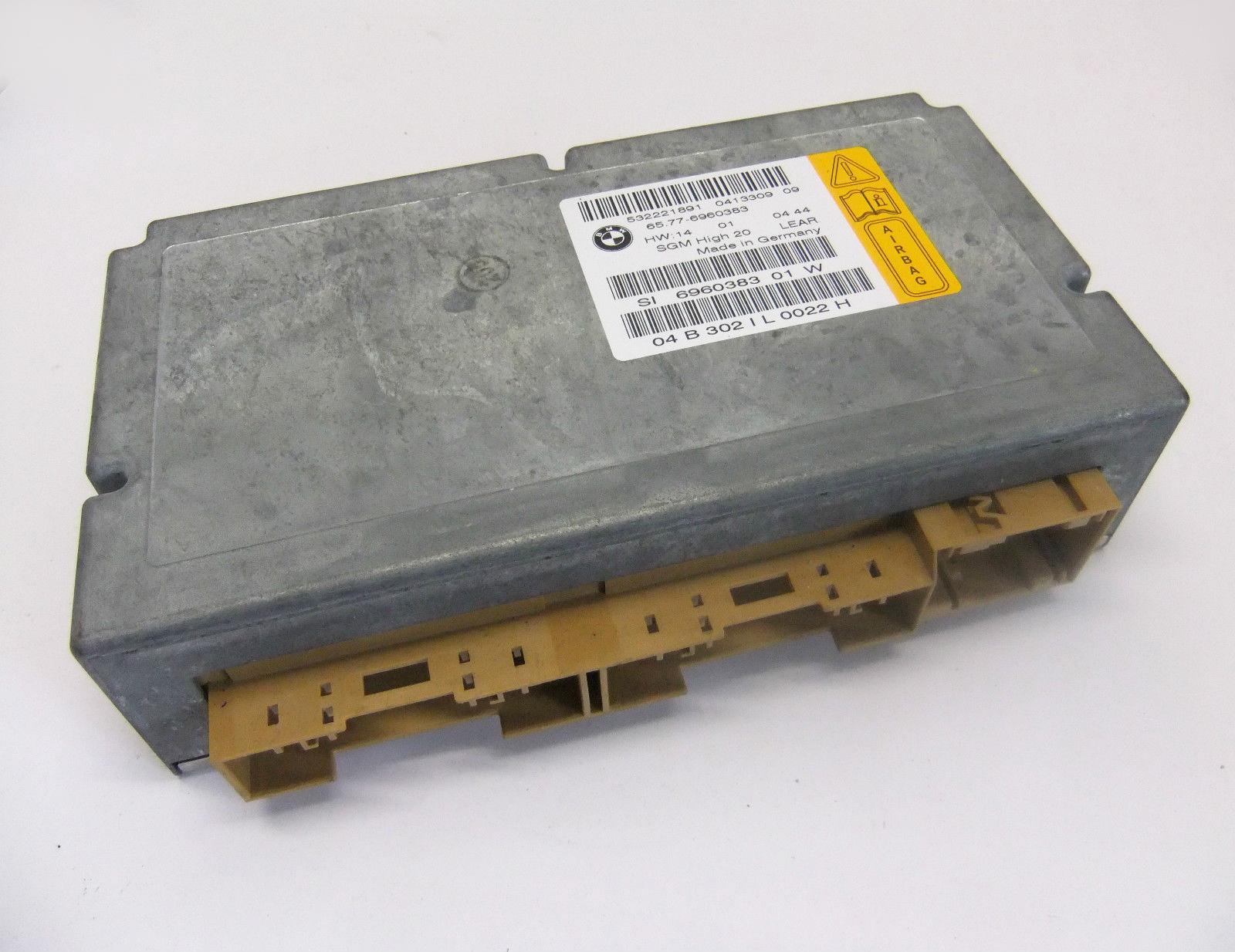 Bmw Steuergerät Airbag Mit Gateway Modul 6960383