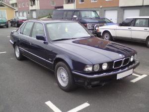 BMW 7'' (E32) - Beispielbild