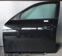 BMW 5er E60 E61 Tür vorne links Schwarz 2