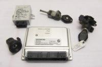 BMW 330Ci E46 Schlüsselsatz mit Steuergeräten