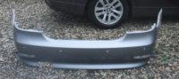 BMW 5er Limousine E60 Stoßstange hinten silber