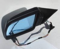 BMW 5er E60 E61 Außenspiegel links Silbergrau metallic